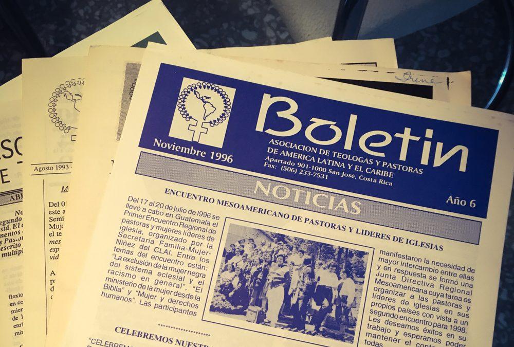 Boletín de la Asociación de Teólogas y Pastoras de América Latina y el Caribe