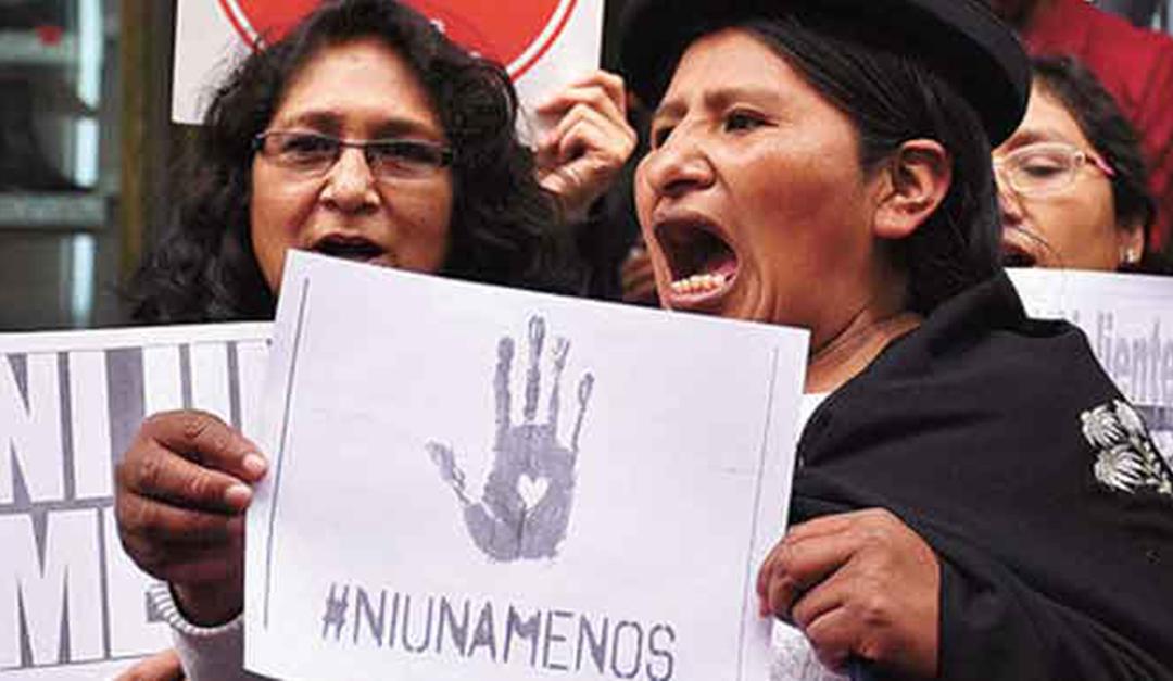 Indignación nacional por los niveles elevados de feminicidios y violencia contra las mujeres