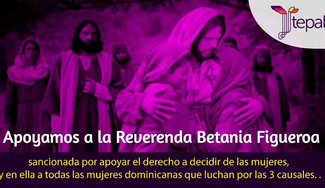 Apoyo a Bethania Figueroa y a la lucha de las mujeres en República Dominicana